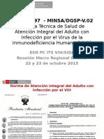 Actualizacion NTS 97-2014 Adultos VIH Oct2015