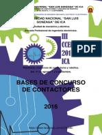Bases Categoria Contactores Cceime 2016