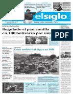 Edición Impresa Elsiglo 13-09-2016