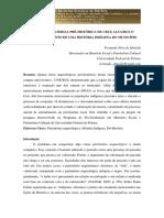 A Cultura Material Pré-histórica de Cruz Alta..