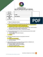 10. Evaluación Curso Seguridad en Trabajos de Alto Riesgo - GMP