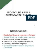 Micotoxinas en La Prod. Anim