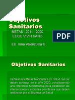 Objetivos Sanitarios 2011-2020