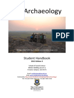 Archaeology Handbook UQ