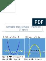 Aula 03 - Função Polinomial Do 2º Grau - Estudo Dos Sinais