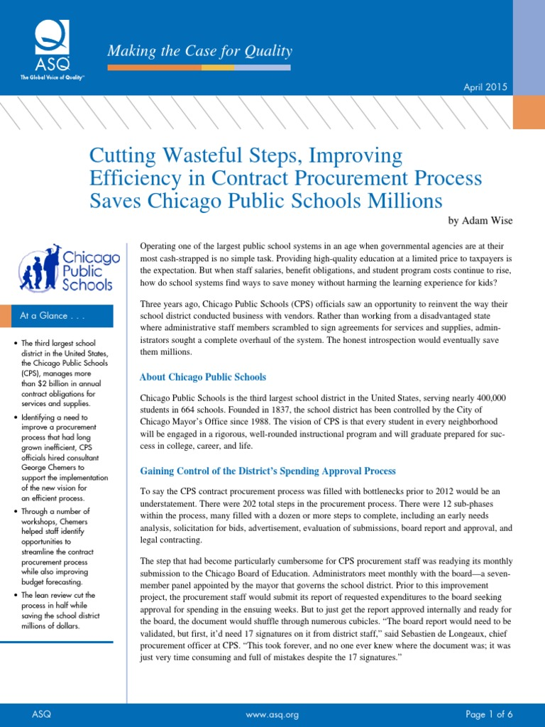 Fixing Chicago Public Schools should be a priority