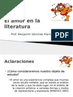 Tipos y Visiones Del Amor en La Literatura