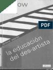 Kaprov - La educacion del des-artista.pdf