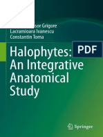 Halophytes. an Integrative Anatomical Study. Product Flyer