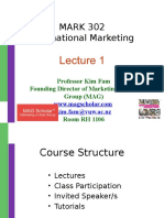 MARK 302 - Lecture 1 - Introduction