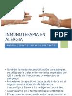 Inmunoterapia en Alergia