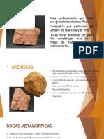 Rocas Sedientarias y Metamorficas