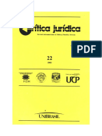 Crítica Jurídica. Revista Latinoamericana de Política, Filosofía y Derecho 2003