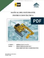Manual Hidraulica Gat 4 Caterpillar Componentes Seguridad Fluidos Codigo Tanques Lineas Cilindros Bombas Motores