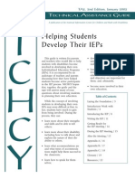 Students Guide to the IEP Helping Students Develop Their IEPs