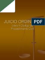 Juicio Ordinario I