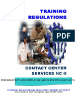 TR - Contact Center Services NC II