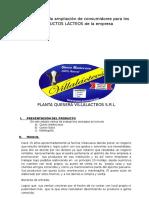 Estudio de Mercados de Productos Lácteos en Cajamarca