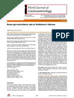Eje Microbiota Parkinson