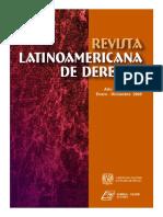 Revista Latinoamericana de Derecho. Número 9-10