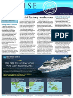 Cruise Weekly for Tue 13 Sep 2016 - Crystal Cruises, Viking Freya, Cruise Month, Uniworld, Queensland, Pacific Eden, Sydney, RCI AMPERSAND more