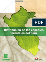 Distribución Especies Forestales Perú