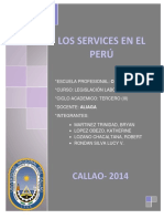 Los Services en El Peru PDF