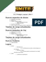 SMITE _ Proteger y Apoyar