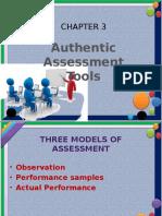 Authentic Assessment Tools