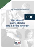 Rapport Parlementaire Ethique Du Numerique