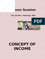 Philippine Income Taxation - Income