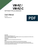 Motherboard Manual 8i845gvm-Rzc e