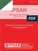 Ipsar Management Review Jan -Jun-2016 (1)
