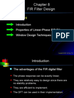 Chap8-FIR Filter Design