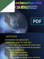 Internacionalizacion de La Empresa