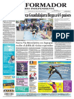 Portada de Guadalajara Guadalajara en El Informador