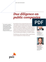 Pwc Due Diligence on Public Companies 2013 01 En