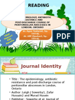 Jurnal The Epidemiology, Abses Peritonsil - THT.pptx
