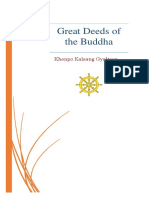 Great Deeds of the Buddha Booklet KhenpoKalsang Gyaltsen
