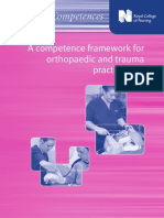 RCN Ortho Competencies
