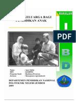 Pola Pendidikan Dalam Keluarga