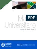 Master en Diseño Gráfico (Titulación Universitaria + 60 Créditos ECTS)