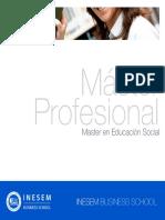 Master en Educación Social
