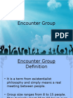 Encounter Groups Ppt