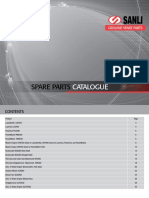 Sanli Spare Parts Catalogue