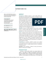Childhood Obesity a Global Public Health Crisis ( International Journal of Preventif Medicine )