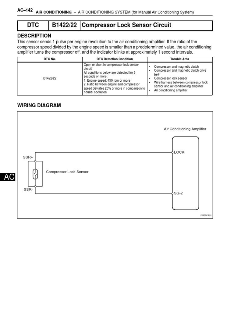 Compressor Lock Sensor | Amplifier | Electrical Connector