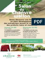 1er Salon du Chanvre Wallon 24 & 25 Septembre 2016