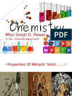Sonal Properties of Metalic Solid