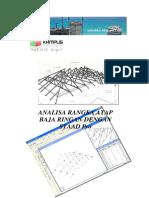 1593_analisa Rangka Atap Baja Ringan Dengan Staad Pro
